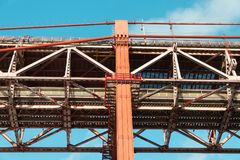 Взгляд конца-вверх моста Стоковые Фото