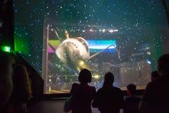 Взгляд космического летательного аппарата многоразового использования Атлантиды Стоковые Изображения RF