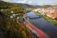 Взгляд красивого города стоковые изображения rf