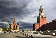взгляд красного квадрата moscow Стоковое Фото
