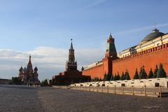 Взгляд красной площади Стоковые Фото