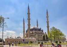 Взгляд красоты мечети Selimiye Стоковое Фото
