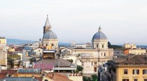 взгляд крыши rome Стоковая Фотография RF