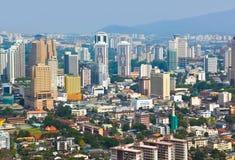взгляд Куала Лумпур Малайзии города стоковые изображения