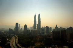 взгляд Куала Лумпур Стоковая Фотография RF