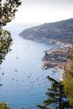 взгляд курорта Франции среднеземноморской один Стоковое Изображение
