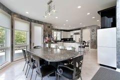 взгляд кухни палубы Стоковая Фотография RF