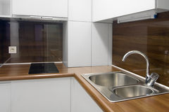 взгляд кухни Стоковое фото RF