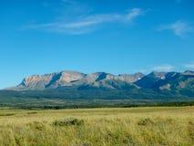 Взгляд к горам в Канаде стоковое фото
