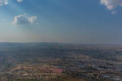 Взгляд к городу Lubango anisette Стоковое Фото