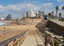 Взгляд к Тель-Авив Стоковое фото RF