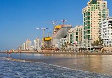 Взгляд к Тель-Авив Стоковые Фотографии RF