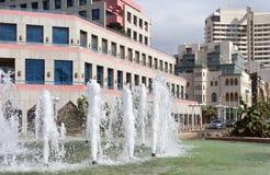 Взгляд к Тель-Авив Стоковое Изображение RF
