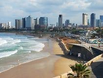 Взгляд к Тель-Авив Стоковые Фото