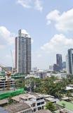 Взгляд ландшафта Бангкок, Таиланда Стоковые Изображения