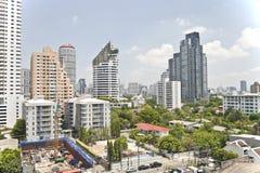 Взгляд ландшафта Бангкок, Таиланда Стоковое Изображение