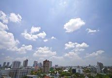 Взгляд ландшафта Бангкок, Таиланда Стоковое Фото