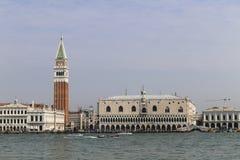 Взгляд ландшафта Венеции, Италии Стоковые Изображения