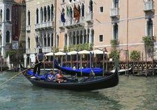 Взгляд ландшафта Венеции, Италии Стоковая Фотография RF