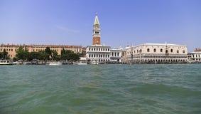 Взгляд ландшафта Венеции, Италии Стоковое Изображение RF