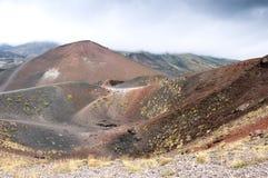 взгляд ландшафта вулканический Стоковые Фото
