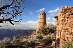 взгляд ландшафта пустыни каньона грандиозный Стоковое Фото