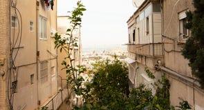 Взгляд ландшафта улицы природы стоковая фотография rf
