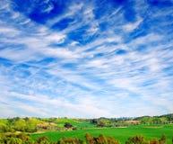 взгляд ландшафта Стоковое Изображение RF