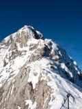 Взгляд ландшафта Triglav от Мали Triglav Стоковые Фотографии RF