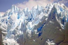 Взгляд ледника Perito Moreno от Brazo Rico в озере в Патагонии, Аргентине Argentino стоковые фото