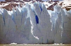Взгляд ледника Perito Moreno от Brazo Rico в озере в Патагонии, Аргентине Argentino стоковое фото rf