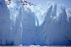 Взгляд ледника Perito Moreno от Brazo Rico в озере в Патагонии, Аргентине Argentino стоковое изображение rf