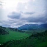 взгляд лета высокой горы s Стоковое фото RF