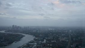 Взгляд Лондона от черепка Стоковое Фото