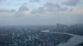 Взгляд Лондона от черепка Стоковые Фотографии RF