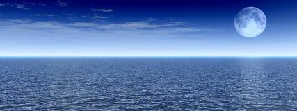 взгляд луны Стоковое фото RF