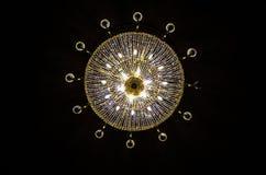 Взгляд люстры снизу стоковое изображение rf