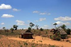 взгляд Мадагаскара сельский типичный стоковые изображения