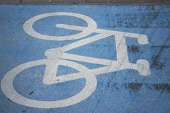Взгляд майны велосипеда стоковые фото