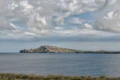 Взгляд маяка Cavalleria menorca Испания Балеарич Исланд Стоковое фото RF