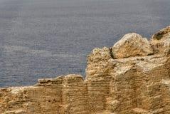 Взгляд маяка Cavalleria menorca Испания Балеарич Исланд Стоковая Фотография