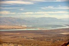 взгляд мертвого моря Стоковое фото RF
