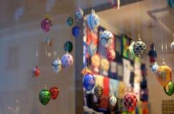 Взгляд много декоративных яичек Торжество пасхи Стоковые Изображения RF
