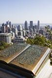 Взгляд Монреаля от держателя королевского Стоковые Фото