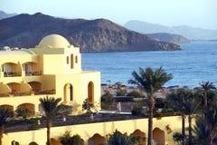 взгляд моря гостиницы Египета Стоковые Изображения RF