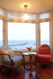 взгляд моря комнаты Стоковая Фотография