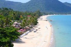 взгляд моря пляжа стоковое фото rf