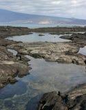 взгляд моря эквадора Стоковые Изображения