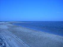 взгляд моря azov России Стоковые Фотографии RF