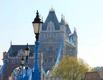 Взгляд моста башни в Лондоне стоковые фотографии rf